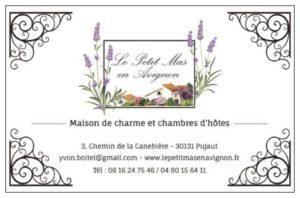 Logo + carte de visite chambres d'hôtes